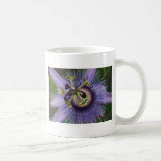 Lila Leidenschafts-Blume Kaffeetasse