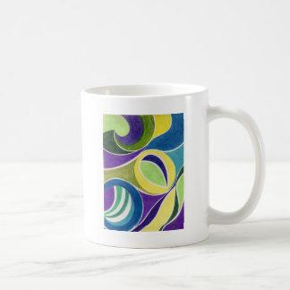lila Licht Kaffeetasse