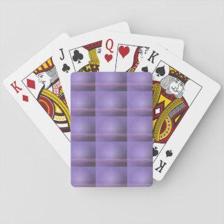Lila Lichter Spielkarte