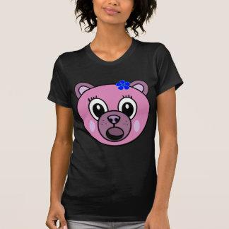 Lila Mädchen-Bär T-Shirt