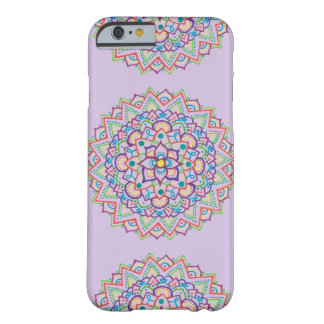 Lila Mandala-Kasten Barely There iPhone 6 Hülle