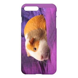 Lila Meerschweinchen-Zellen-Telefon-Kasten iPhone 8 Plus/7 Plus Hülle