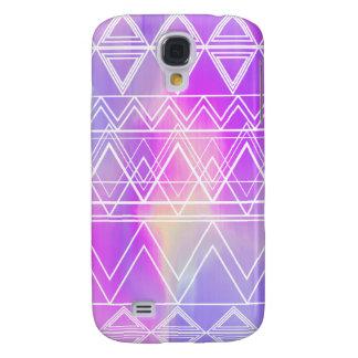 Lila multi Stammes- Galaxy S4 Hülle