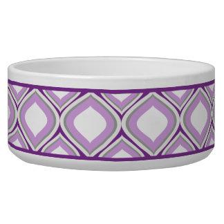 Lila Ogee Keramik-Hundeschüssel Napf