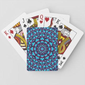 Lila Pfeifer-bunte Spielkarten