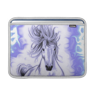 Lila Pferd MacBook Sleeve