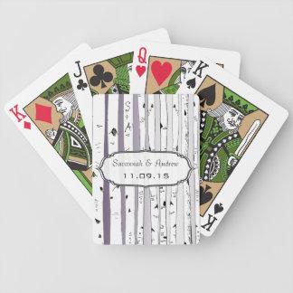 Lila Poker Karten