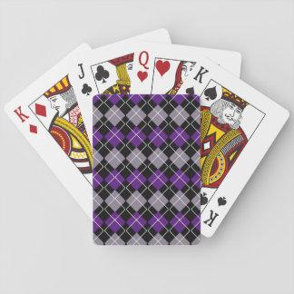 Lila Raute Pokerdeck