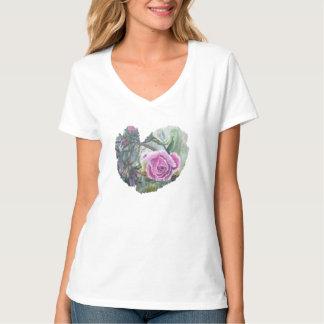 Lila Regen T-Shirt