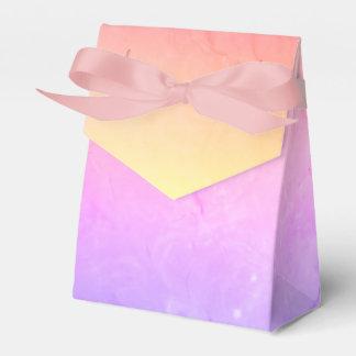 Lila rosa Steigungs-Gastgeschenk Hochzeits-Kasten Geschenkschachtel