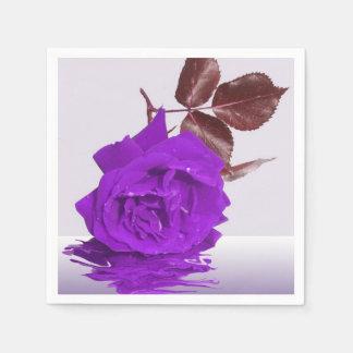 Lila Rose von Faser Serviette