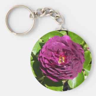 Lila Rosen-Schlüsselkette Schlüsselanhänger
