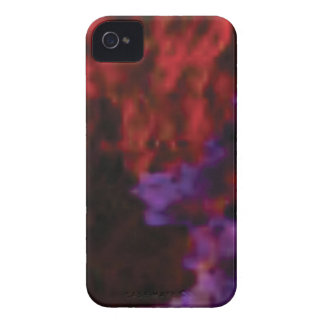 lila rote Mischungskoralle iPhone 4 Cover