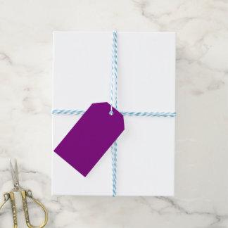 Lila Schablone fertigen mit Bildern und Text Geschenkanhänger