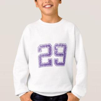 Lila Sport Jerzee Zahl 29.png Sweatshirt