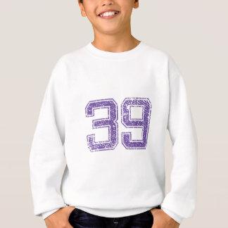 Lila Sport Jerzee Zahl 39.png Sweatshirt