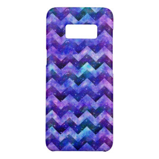 Lila Starry GalaxieWatercolor Zickzack Case-Mate Samsung Galaxy S8 Hülle
