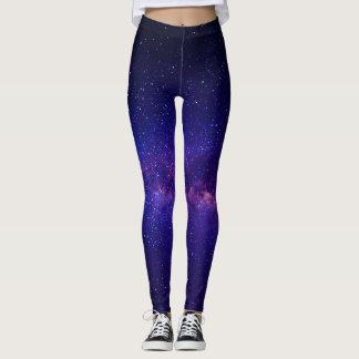 Lila Starry Nacht Galay Leggings