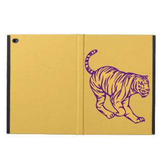 Lila Streifen-wilde Katzen-Tiger-Illustration