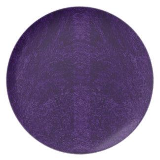 Lila Traum-Platte Teller