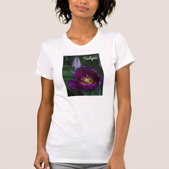 Lila Tulpen T-Shirt