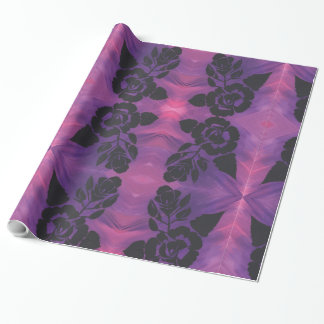 Lila u. rosa geschenkpapier