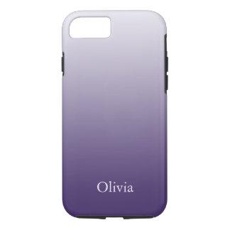 Lila und Lavendel-Steigung iPhone 7 Hülle
