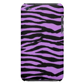 Lila und Zebra-Streifen iPod Touch Hüllen