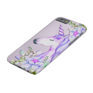 lila Unicorn iphone Kasten Barely There iPhone 6 Hülle