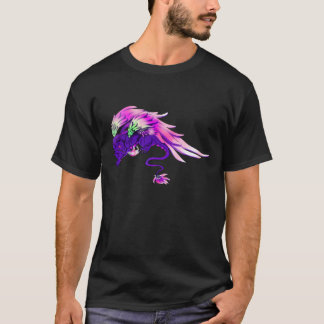 Lila Winged Drake T-Shirt