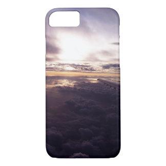 Lila Wolken-Telefon-Kasten iPhone 8/7 Hülle