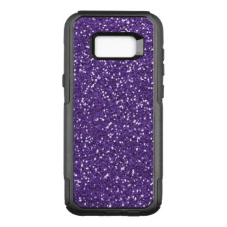 Lila Zauber und Glitter OtterBox Commuter Samsung Galaxy S8+ Hülle