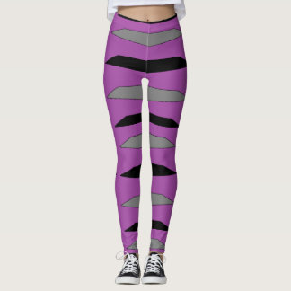 Lila Zebra Legging Leggings