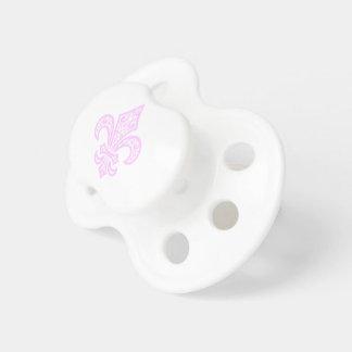Lilie bébé™ Baby-Schnuller weiß/Rosa Schnuller