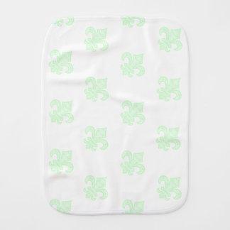 Lilie bébé™ Babyburp-Stoff-Minzen-Grün Spucktuch