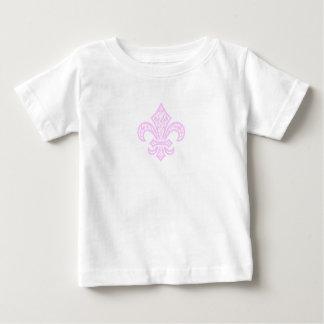 Lilie bébé™ T - Shirt, Weiß/Rosa Baby T-shirt