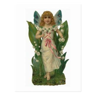 """""""Lilie des Tales"""" Vintage Postkarte"""