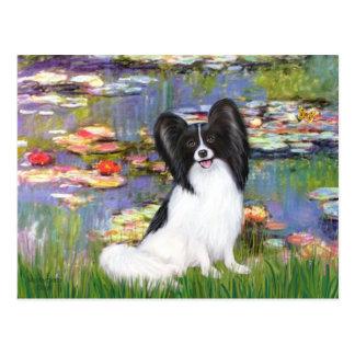 Lilien 1 - Papillon 1 Postkarte