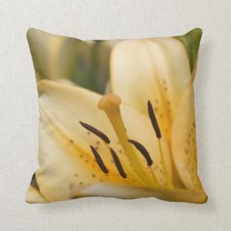 Lilien Blumen Foto Kissen