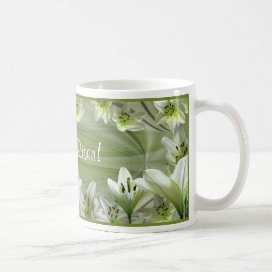 Lilien für Ostern! Kaffeetasse