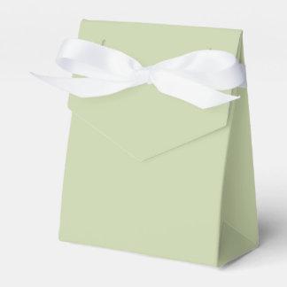 Lilien-Grün für französische Chateau-Hochzeit Geschenkschachtel