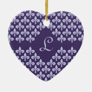 Lilienverzierung, fertigen besonders an keramik Herz-Ornament
