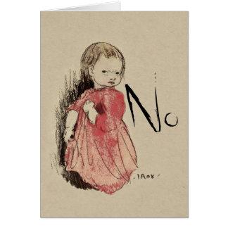 Lillan sagt keinen Ivar Arosenius CC0993 Karte