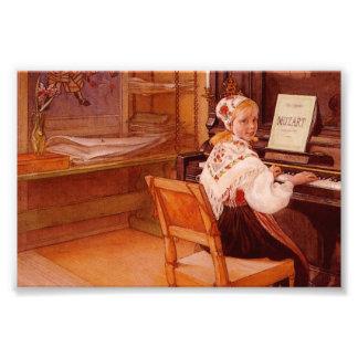 Lillanna, das Mozart spielt Foto