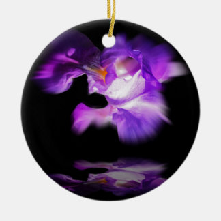 lily keramik ornament