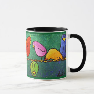 """LimbBirds """"Feelin unten?"""" Kaffeetasse"""