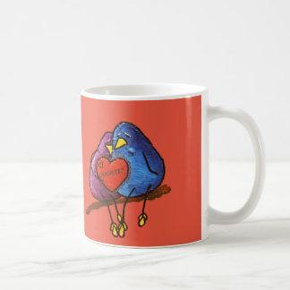 "LimbBirds ""Schokoladen-Valentinsgrüße "" Kaffeetasse"