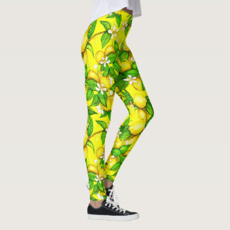 Limonade-Gamaschen Leggings