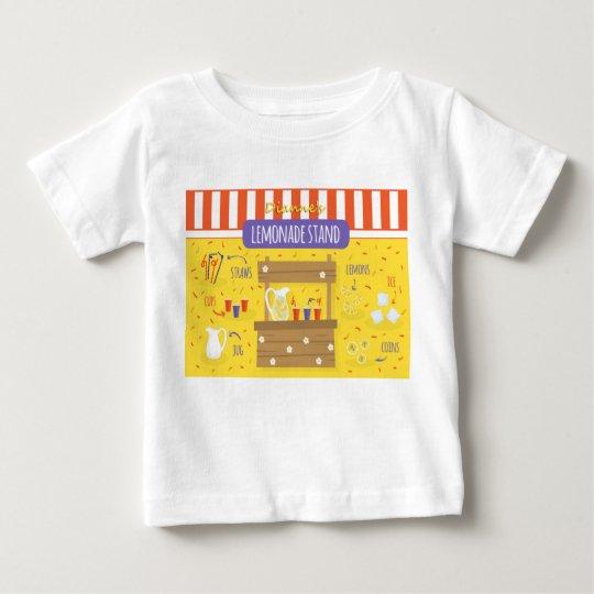 Limonadestand-Baby-T-Stück durch Dianne ❤️ Baby T-shirt