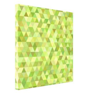 Limone Dreiecke Leinwanddruck